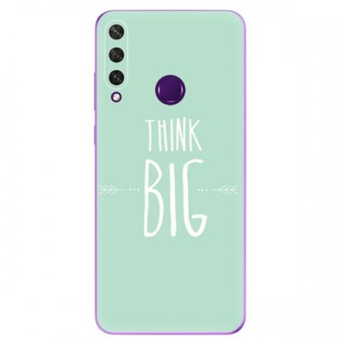 Odolné silikonové pouzdro iSaprio - Think Big - Huawei Y6p