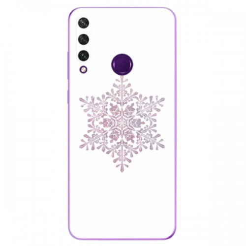 Odolné silikonové pouzdro iSaprio - Snow Flake - Huawei Y6p