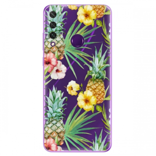 Odolné silikonové pouzdro iSaprio - Pineapple Pattern 02 - Huawei Y6p