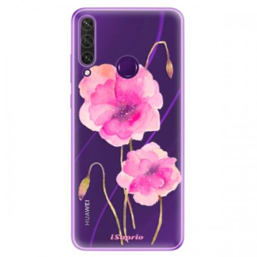 Odolné silikonové pouzdro iSaprio - Poppies 02 - Huawei Y6p