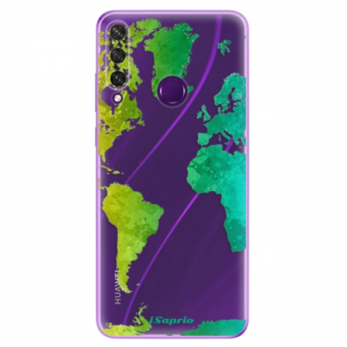 Odolné silikonové pouzdro iSaprio - Cold Map - Huawei Y6p