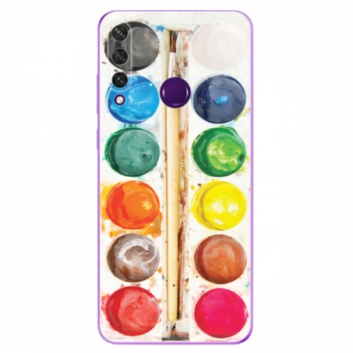 Odolné silikonové pouzdro iSaprio - Watercolors - Huawei Y6p