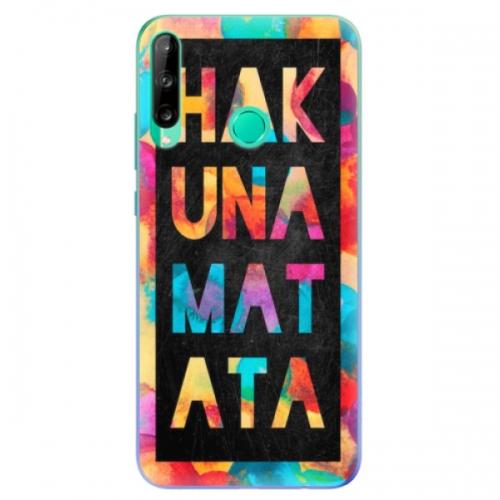 Odolné silikonové pouzdro iSaprio - Hakuna Matata 01 - Huawei P40 Lite E