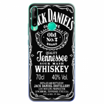 Odolné silikonové pouzdro iSaprio - Jack Daniels - Huawei P40 Lite E