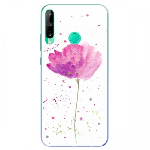 Odolné silikonové pouzdro iSaprio - Poppies - Huawei P40 Lite E