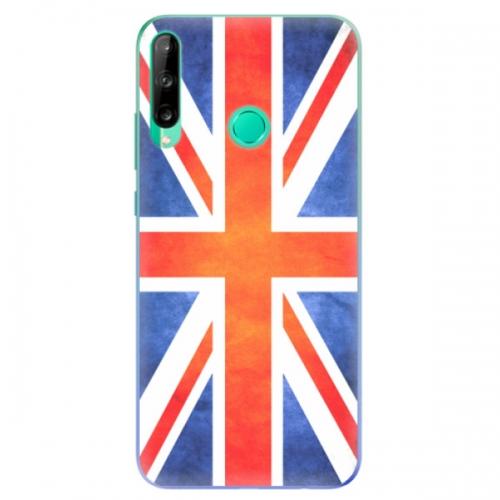 Odolné silikonové pouzdro iSaprio - UK Flag - Huawei P40 Lite E