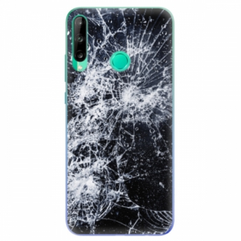 Odolné silikonové pouzdro iSaprio - Cracked - Huawei P40 Lite E