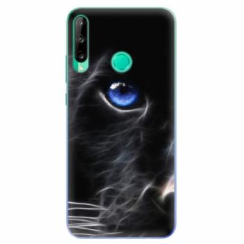 Odolné silikonové pouzdro iSaprio - Black Puma - Huawei P40 Lite E