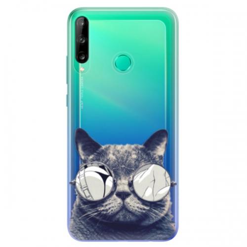 Odolné silikonové pouzdro iSaprio - Crazy Cat 01 - Huawei P40 Lite E