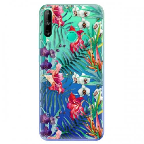 Odolné silikonové pouzdro iSaprio - Flower Pattern 03 - Huawei P40 Lite E