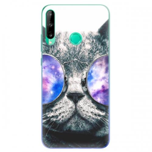 Odolné silikonové pouzdro iSaprio - Galaxy Cat - Huawei P40 Lite E