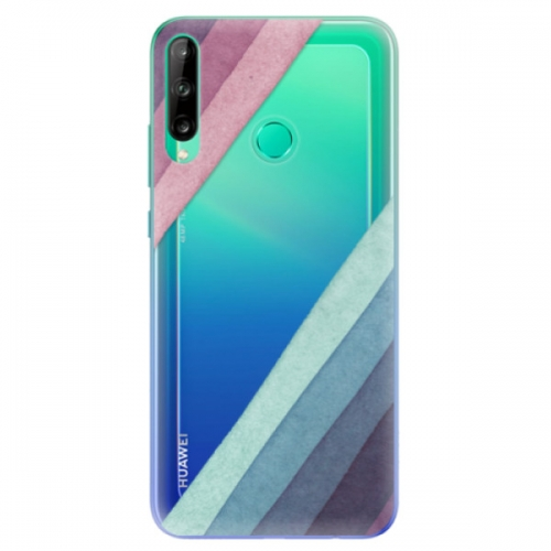 Odolné silikonové pouzdro iSaprio - Glitter Stripes 01 - Huawei P40 Lite E