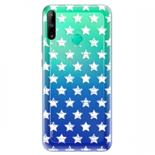 Odolné silikonové pouzdro iSaprio - Stars Pattern - white - Huawei P40 Lite E