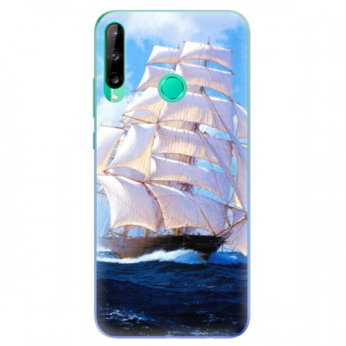 Odolné silikonové pouzdro iSaprio - Sailing Boat - Huawei P40 Lite E