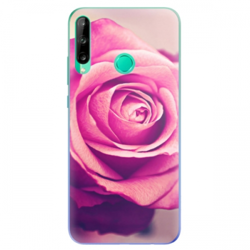 Odolné silikonové pouzdro iSaprio - Pink Rose - Huawei P40 Lite E
