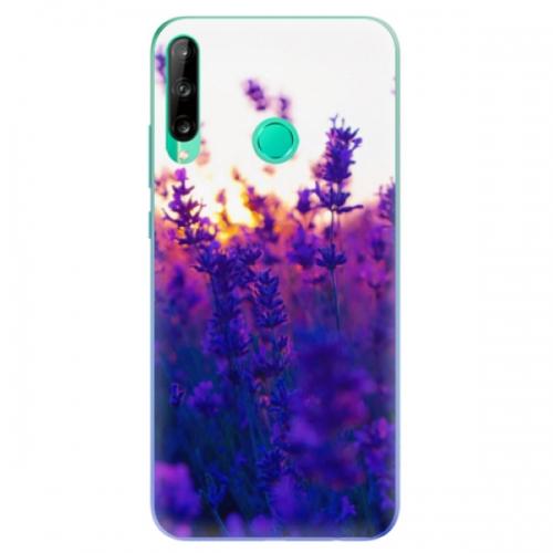 Odolné silikonové pouzdro iSaprio - Lavender Field - Huawei P40 Lite E