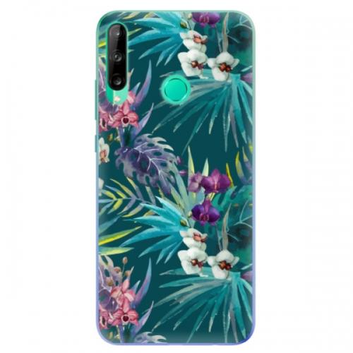 Odolné silikonové pouzdro iSaprio - Tropical Blue 01 - Huawei P40 Lite E