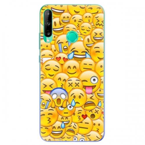Odolné silikonové pouzdro iSaprio - Emoji - Huawei P40 Lite E
