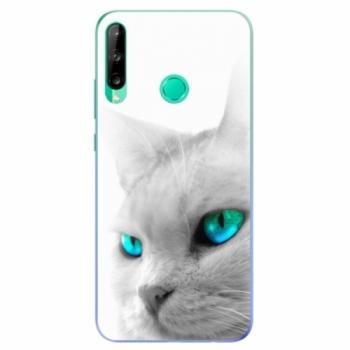 Odolné silikonové pouzdro iSaprio - Cats Eyes - Huawei P40 Lite E