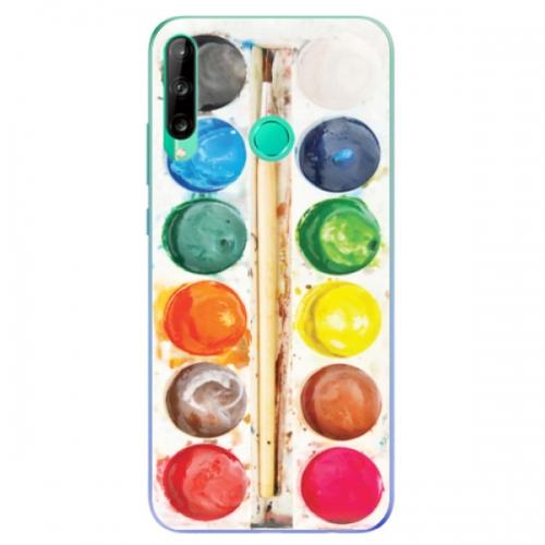 Odolné silikonové pouzdro iSaprio - Watercolors - Huawei P40 Lite E