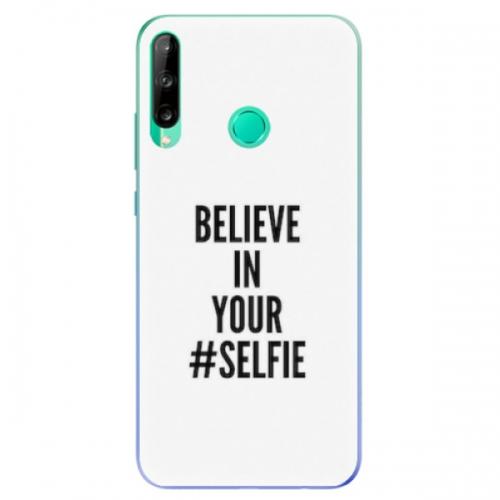 Odolné silikonové pouzdro iSaprio - Selfie - Huawei P40 Lite E