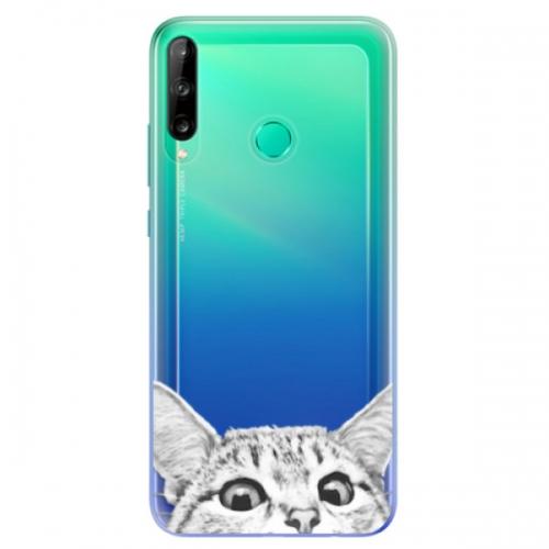 Odolné silikonové pouzdro iSaprio - Cat 02 - Huawei P40 Lite E