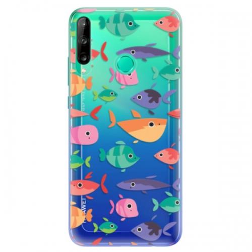 Odolné silikonové pouzdro iSaprio - Fish pattern 01 - Huawei P40 Lite E