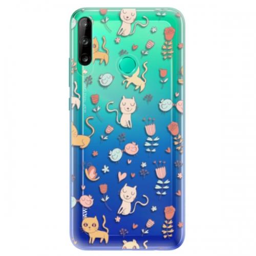 Odolné silikonové pouzdro iSaprio - Cat pattern 02 - Huawei P40 Lite E