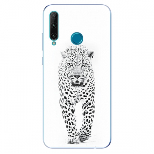 Odolné silikonové pouzdro iSaprio - White Jaguar - Honor 20e