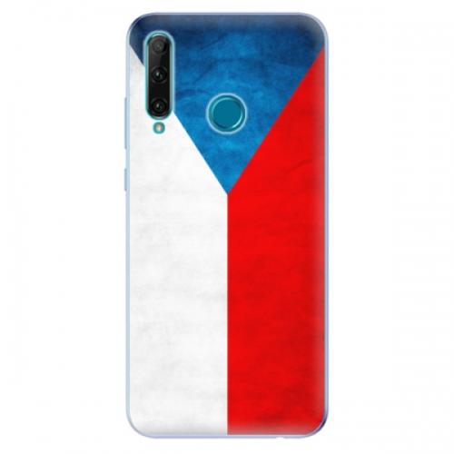 Odolné silikonové pouzdro iSaprio - Czech Flag - Honor 20e