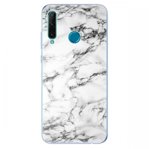 Odolné silikonové pouzdro iSaprio - White Marble 01 - Honor 20e