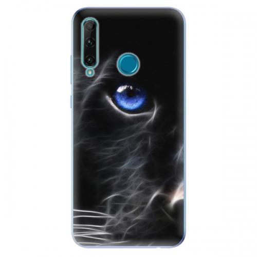 Odolné silikonové pouzdro iSaprio - Black Puma - Honor 20e