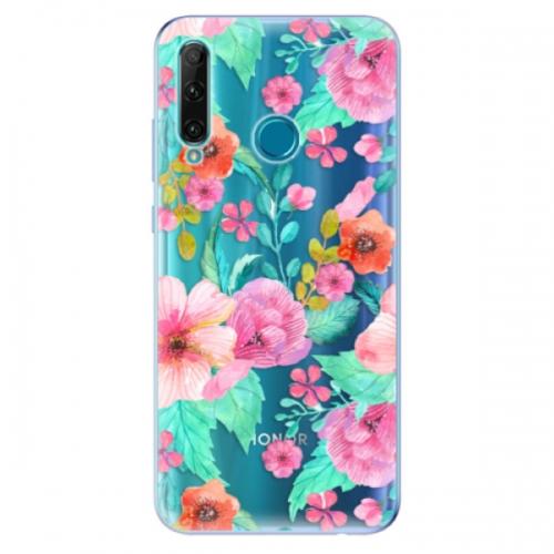 Odolné silikonové pouzdro iSaprio - Flower Pattern 01 - Honor 20e
