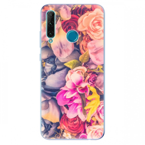 Odolné silikonové pouzdro iSaprio - Beauty Flowers - Honor 20e