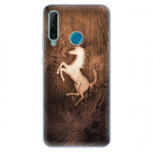 Odolné silikonové pouzdro iSaprio - Vintage Horse - Honor 20e