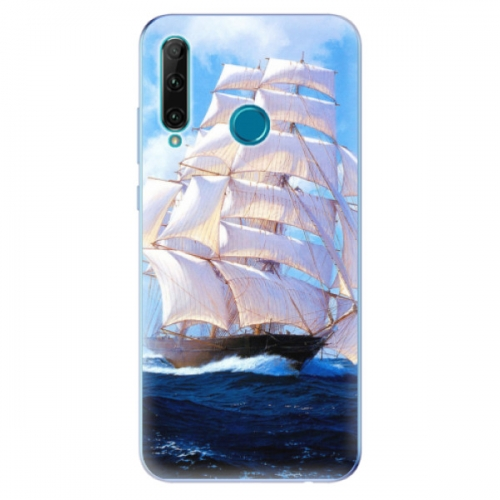 Odolné silikonové pouzdro iSaprio - Sailing Boat - Honor 20e