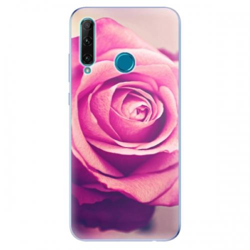 Odolné silikonové pouzdro iSaprio - Pink Rose - Honor 20e
