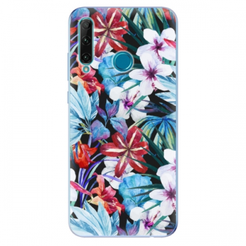 Odolné silikonové pouzdro iSaprio - Tropical Flowers 05 - Honor 20e