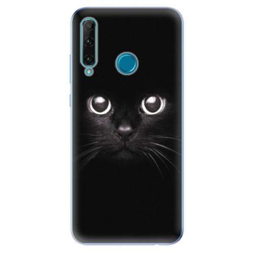 Odolné silikonové pouzdro iSaprio - Black Cat - Honor 20e