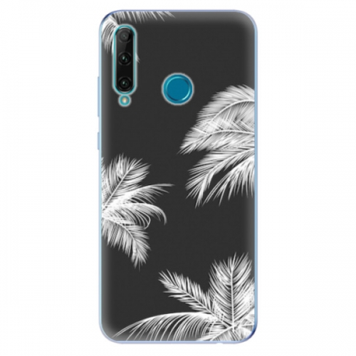 Odolné silikonové pouzdro iSaprio - White Palm - Honor 20e