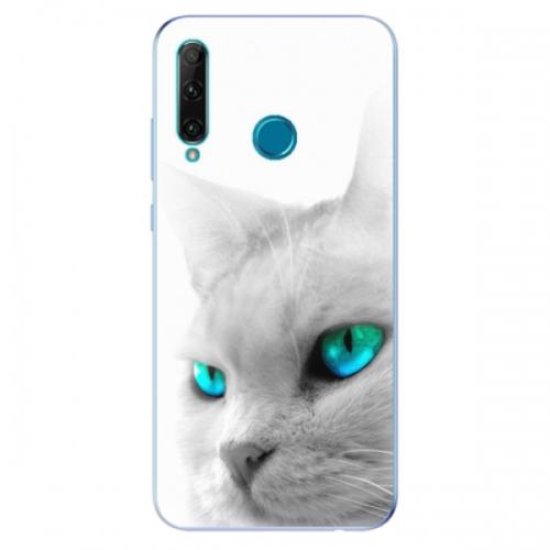 Odolné silikonové pouzdro iSaprio - Cats Eyes - Honor 20e