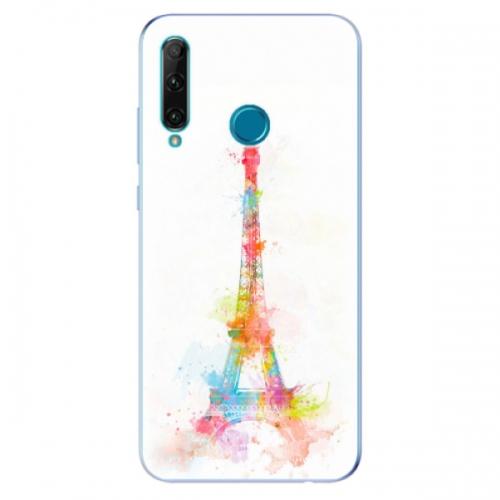 Odolné silikonové pouzdro iSaprio - Eiffel Tower - Honor 20e