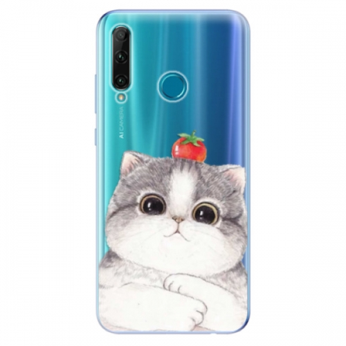 Odolné silikonové pouzdro iSaprio - Cat 03 - Honor 20e