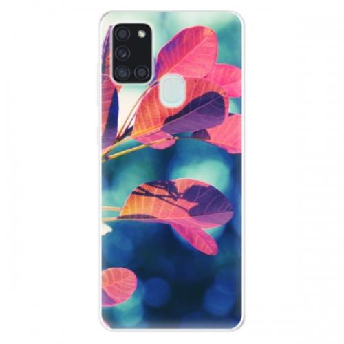 Odolné silikonové pouzdro iSaprio - Autumn 01 - Samsung Galaxy A21s