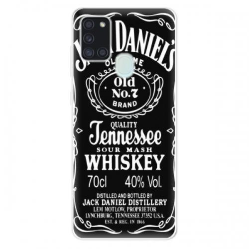 Odolné silikonové pouzdro iSaprio - Jack Daniels - Samsung Galaxy A21s
