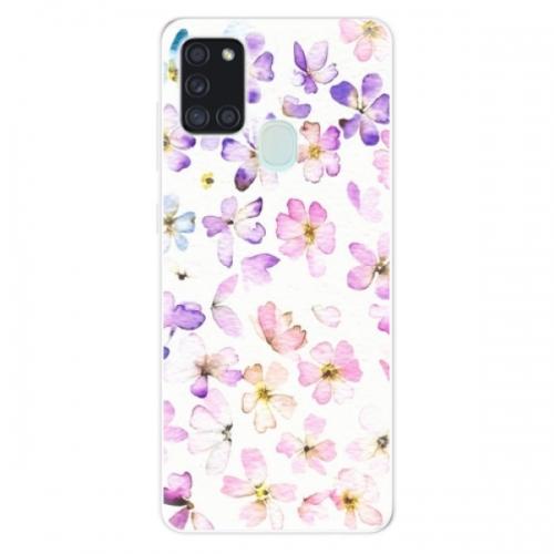 Odolné silikonové pouzdro iSaprio - Wildflowers - Samsung Galaxy A21s