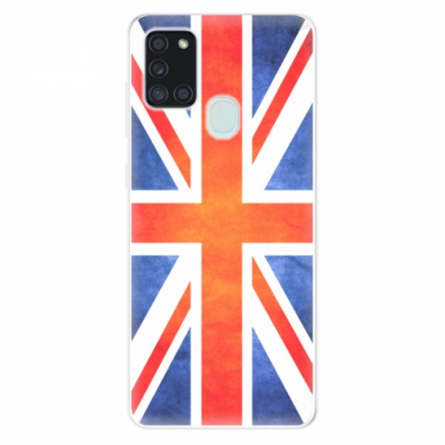 Odolné silikonové pouzdro iSaprio - UK Flag - Samsung Galaxy A21s