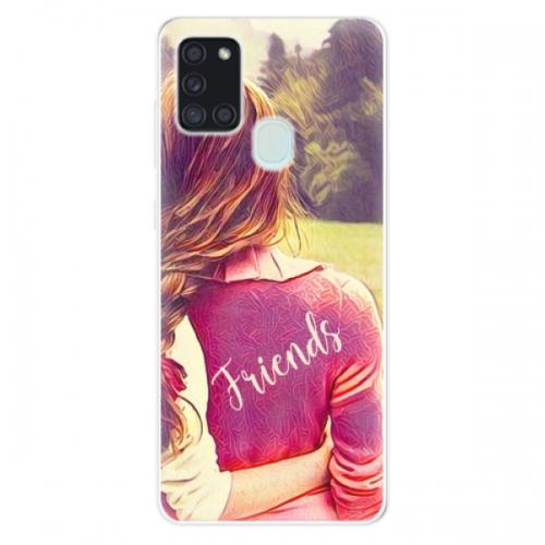Odolné silikonové pouzdro iSaprio - BF Friends - Samsung Galaxy A21s