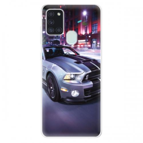 Odolné silikonové pouzdro iSaprio - Mustang - Samsung Galaxy A21s