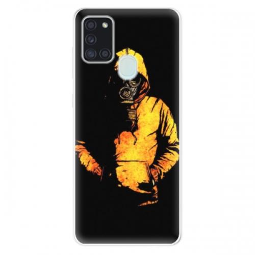 Odolné silikonové pouzdro iSaprio - Chemical - Samsung Galaxy A21s